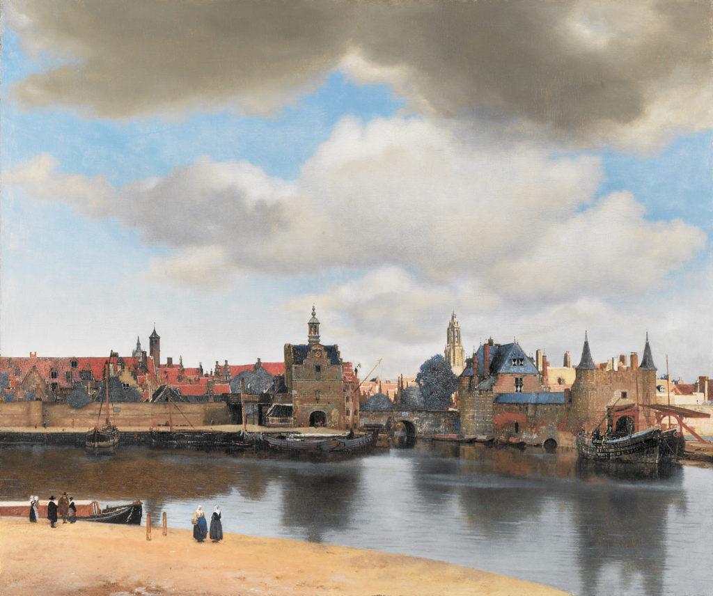 Ansicht von Delft Jan Vermeer