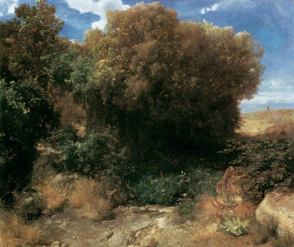 Arnold Böcklin Landschaftsmalerei