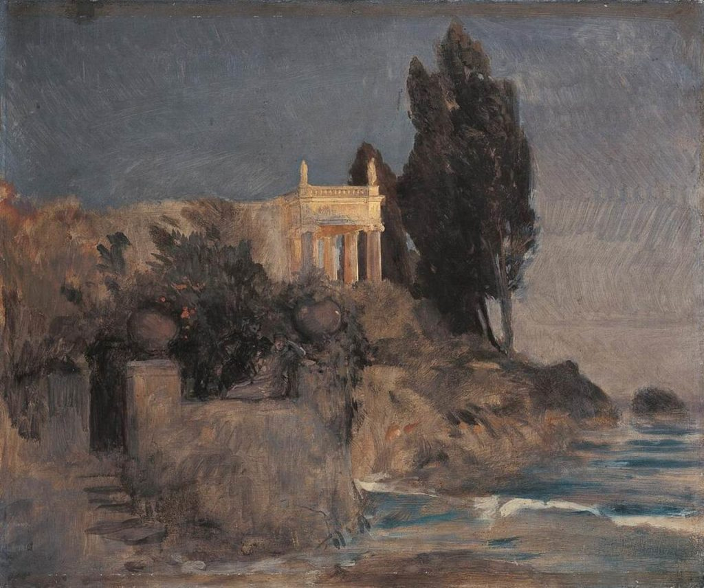 Arnold Böcklin Villa am Meer