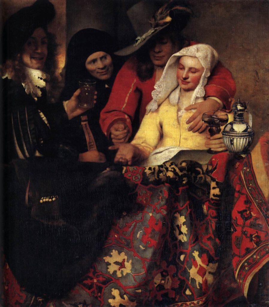 Bei der Kupplerin Jan Vermeer