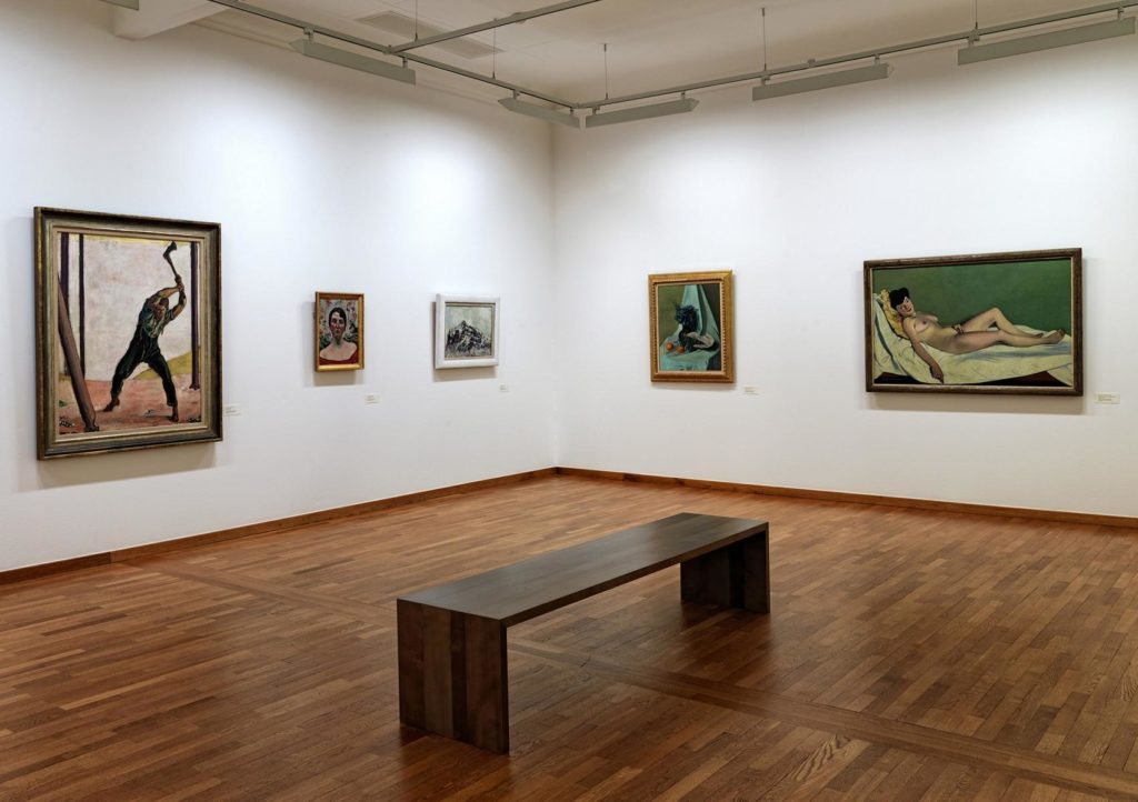Kunstausstellung Museum zu Allerheiligen Schaffhausen Kunstwerke Hodler